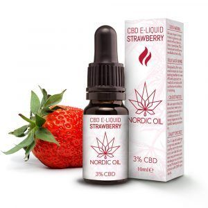 Nordic Oil CBD Liquid Strawberry