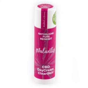 Malantis CBD DayCream ClearSkin zur täglichen Anwendung bei unreiner Haut