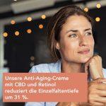 Nordic Cosmetics Revitalisierende Anti-Aging Creme – CBD & Retinol