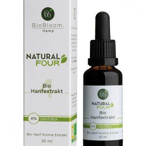 BioBloom Natural CBD Öl 4% (30ml)