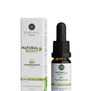 BioBloom Natural CBD Öl 8% (10ml)