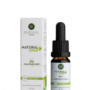 BioBloom Natural CBD Öl 1% (10ml)