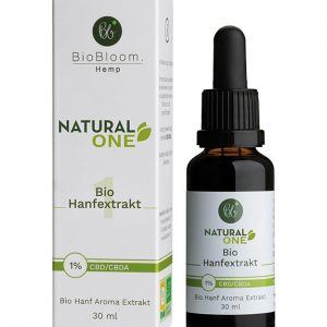 BioBloom Natural CBD Öl 1% (30ml)