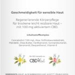 Vitrasan CBD Bodylotion Plus bei trockener Haut und Neurodermitis